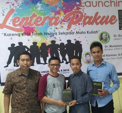 Rangkum Cerita Ber-KKN, Mahasiswa UNCP Launching Buku Lentera Pakue