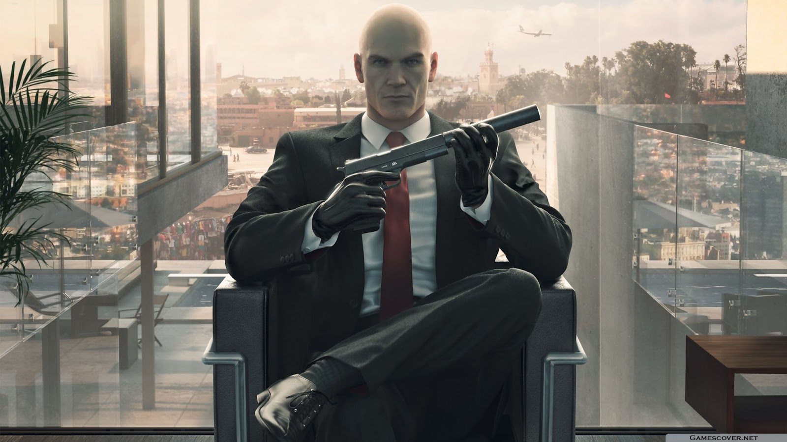 Hitman 6 Hot HD Wallpaper 2560x1440