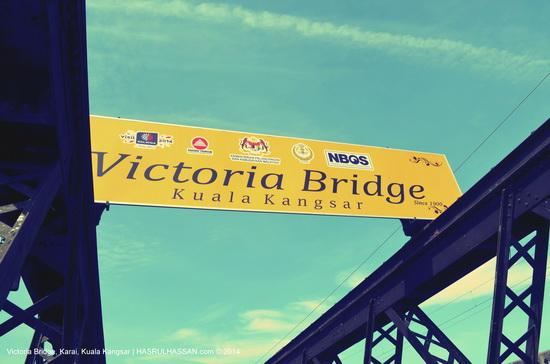 Victoria Bridge Mercu Sejarah Kuala Kangsar