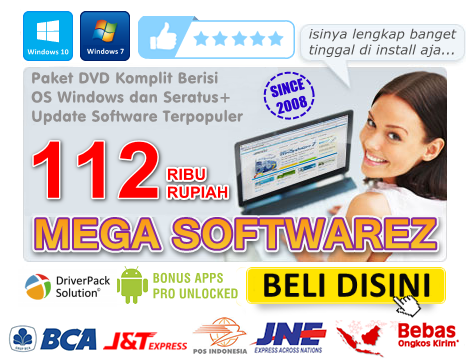 DVD MEGA SOFTWAREZ Versi 29.8.1