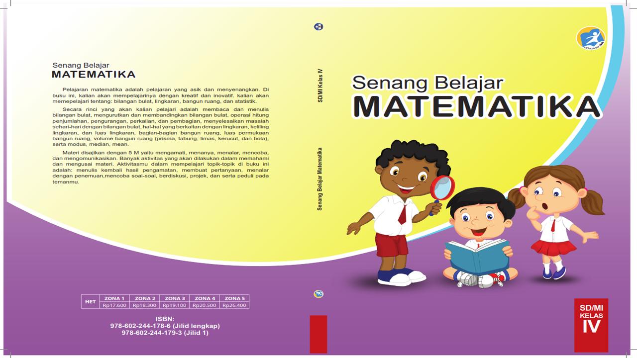 Buku Siswa dan Guru Matematika Kelas 4 SD Kurikulum 2013