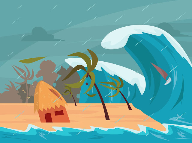 Yang Harus Dilakukan Saat Menghadapi Tsunami