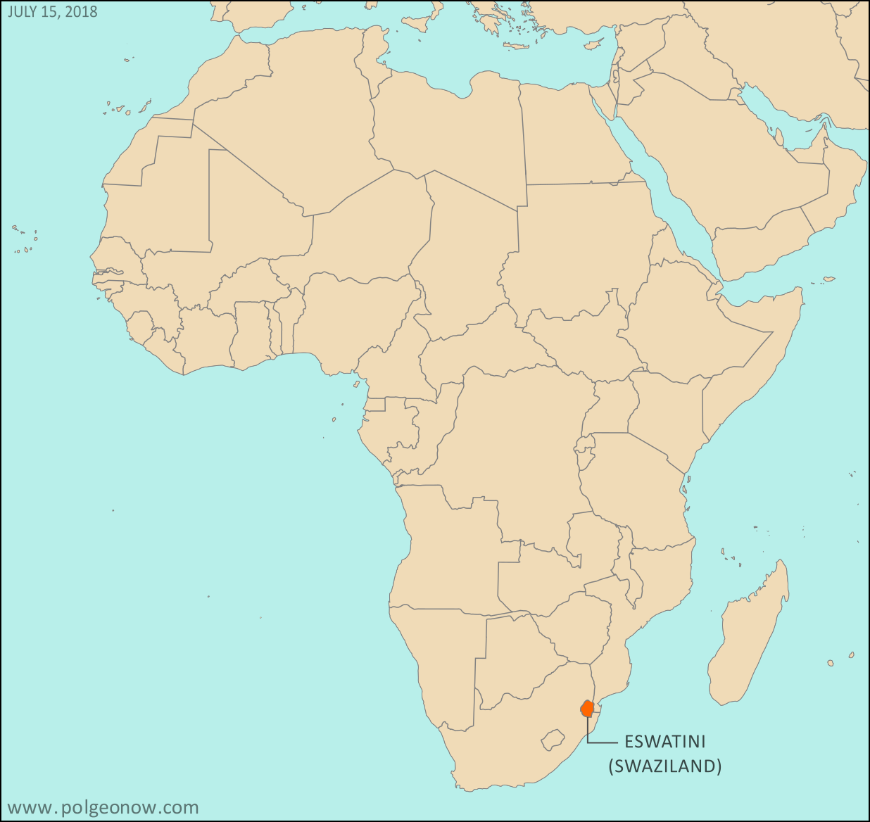 All About Swaziland's Name Change (With Maps) - Political ... on blank map of usa east coast, blank map of kosovo, blank map of commonwealth of independent states, blank map of us virgin islands, blank map of bahrain, blank map of western sahara, blank map of palau, blank map of rodrigues, blank map of u.s.a, blank map of latvia, blank map of gabon, blank map of tortola, blank map of st kitts, blank map of comoros, blank map of st martin, blank map of northern mariana islands, blank map of sao tome and principe, blank map of indian ocean islands, blank map of asia region, blank map of the czech republic,