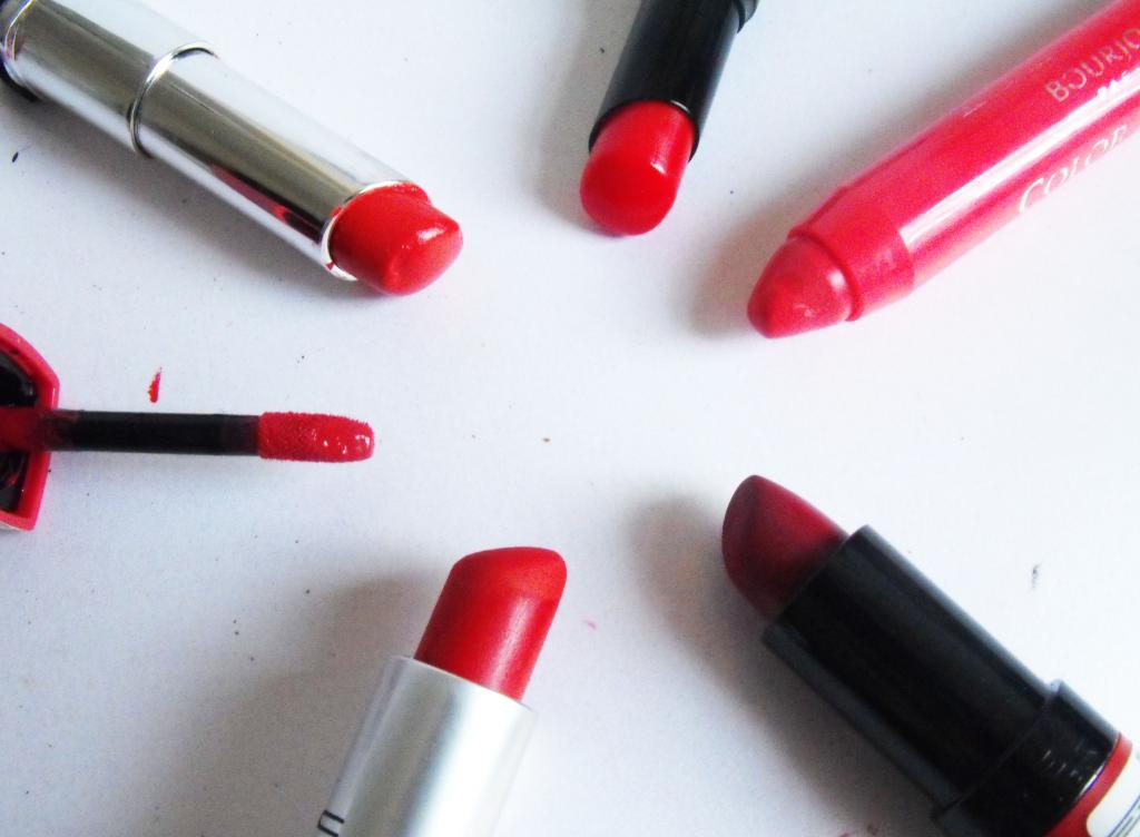 Most Worn Red Lip Products