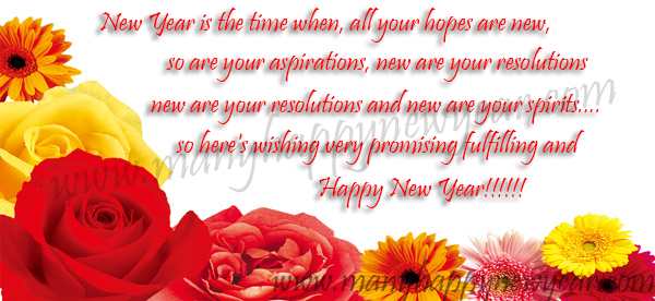 New year status messages quotes wishes