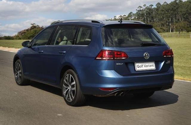 VW Golf Variant 2017 Flex Automática