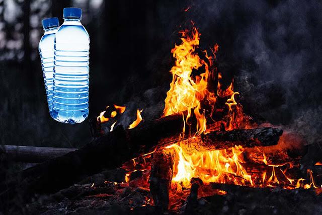 اغرب من الخيال اشعال النار باستخدام المياه !