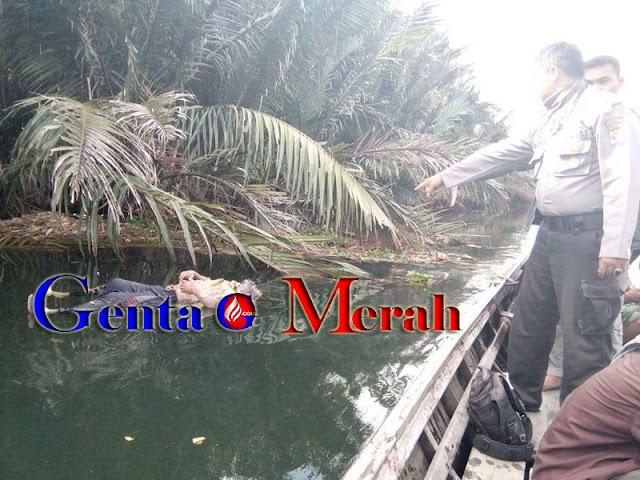 Dua Hari Tidak Pulang, Pria Paruh Baya di Mesuji Tewas Mengambang Di Sungai Buaya