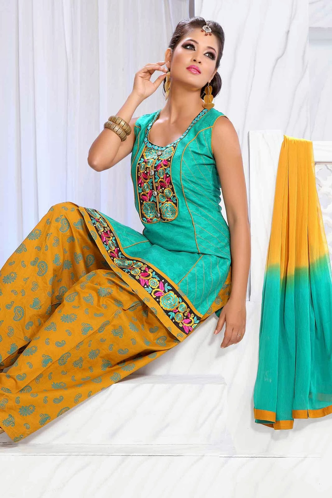 Punjabi Girl Salwar Kameez Hd Pictures Gallery 1 -8129