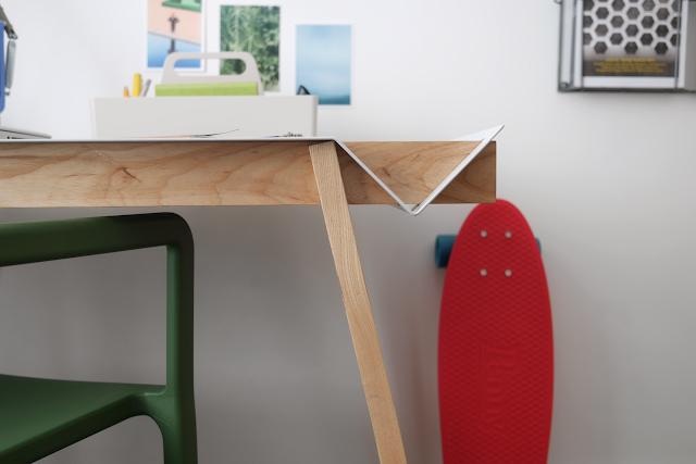 anglepoise paul smith type 75 lamp, dan marc writing desk, hay ikea chair