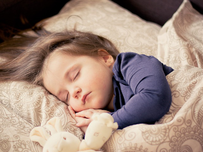 A Child Fast Asleep