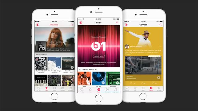 Versão beta pública da Apple Música para Android