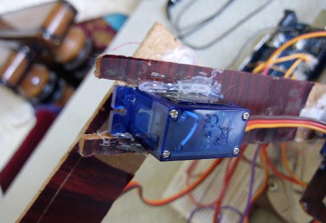 solder for robotic arm