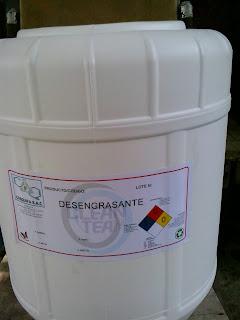 Producto liquido emulsificante y desengrasante