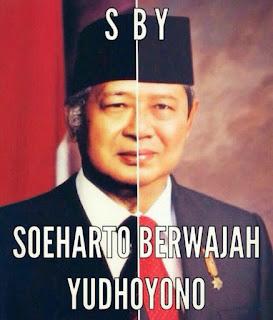 dp bbm foto gambar meme sby suharto