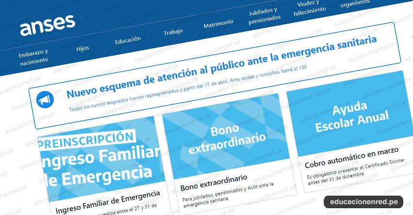 WWW.ANSES.GOB.AR - Formulario, Requisitos y todo sobre el beneficio económico del bono de 10000 Pesos en Argentina [VIDEO]