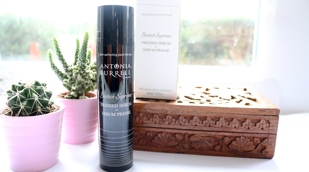 Antonia Burrell Biotech Supreme Pressed Serum review