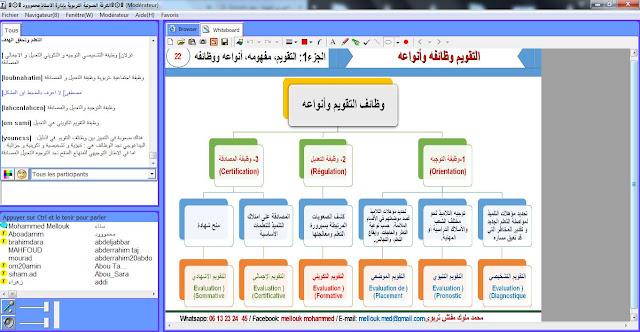 التقوبم مفهومه وظائفه وانواعه من تقديم المفتش القدير محمد ملوك