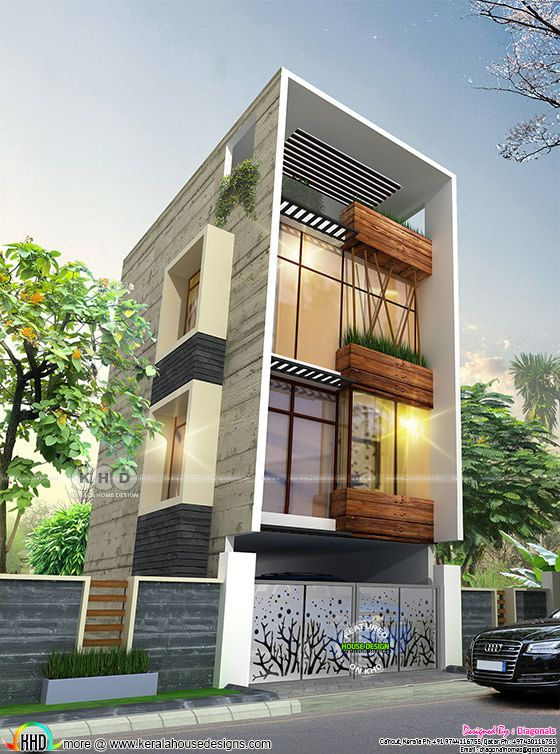 Bangalore residence design with 3 bedrooms