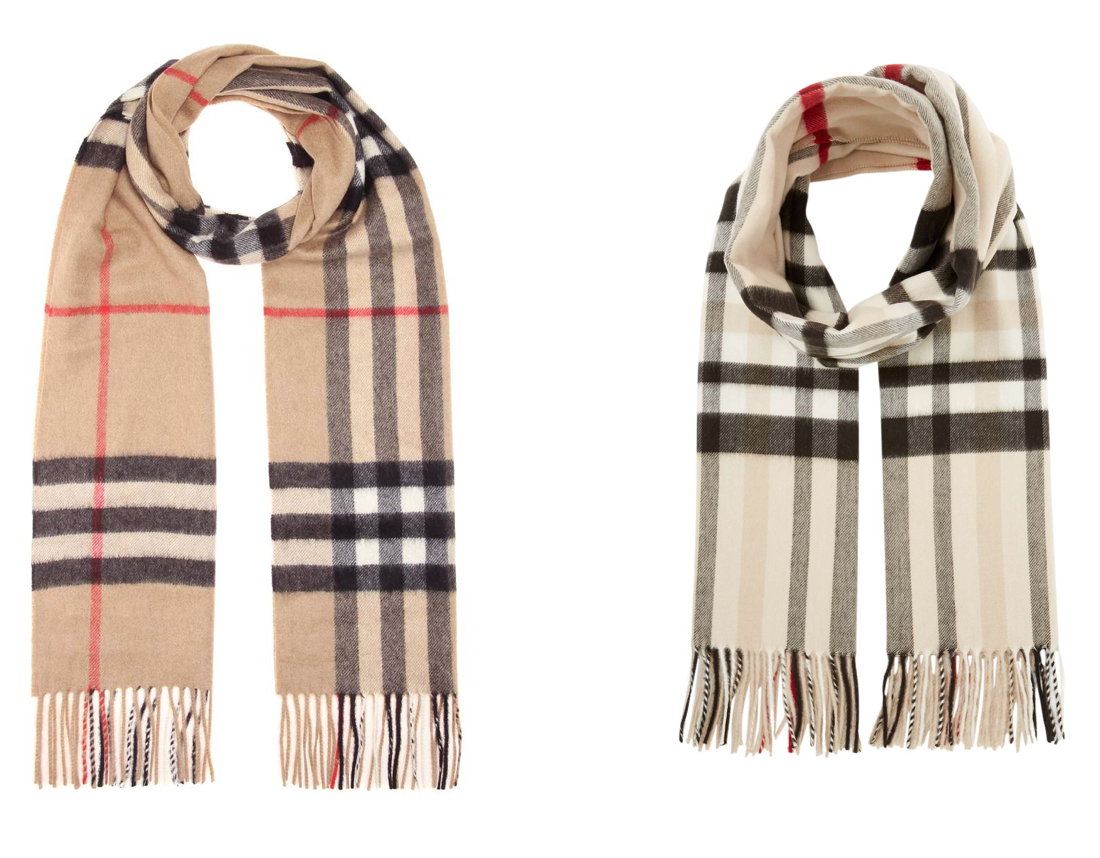 Burberry Linea Scarf Dupe
