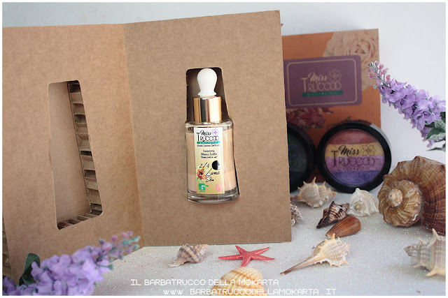 packaging fondotinta bifasico misstrucco ecobio ecobiocosmesi makeup foundation vegan    recensione