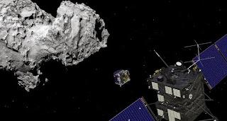 robot aterizare cometa