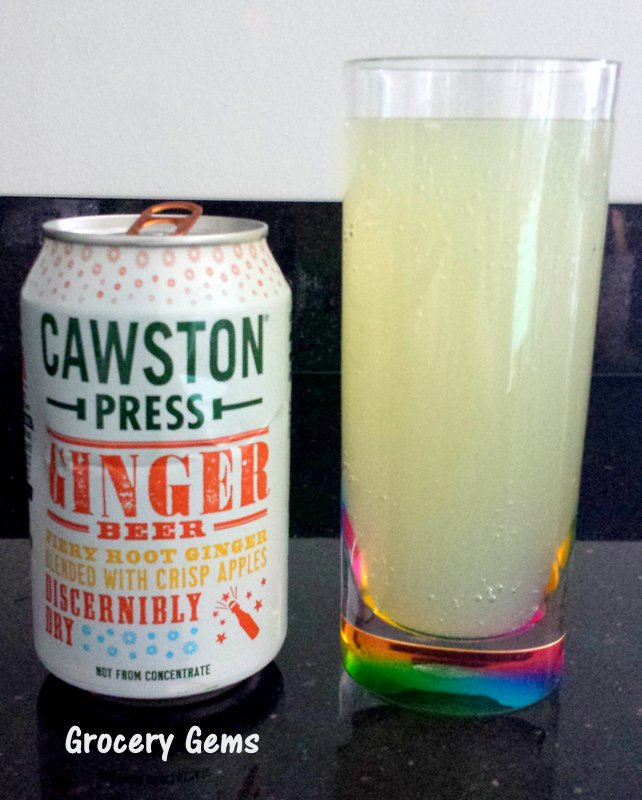 Grocery Gems New Cawston Press Sparkling Drinks Ginger
