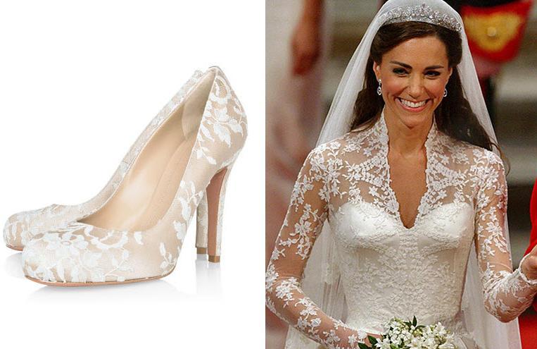 Kate Middleton S Wedding Shoes