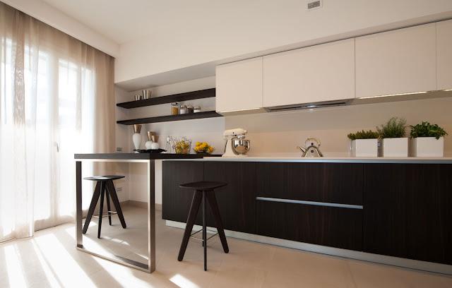 Espacios sin separacin visual  Cocinas con estilo