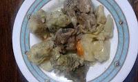 Κατσικάκι με αγκινάρες άσπρη σάλτσα και λεμόνι! - by https://syntages-faghtwn.blogspot.gr