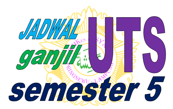 Jadwal UTS Ganjil Semester 5 Prodi Keperawatan tahun akademik 2017-2018