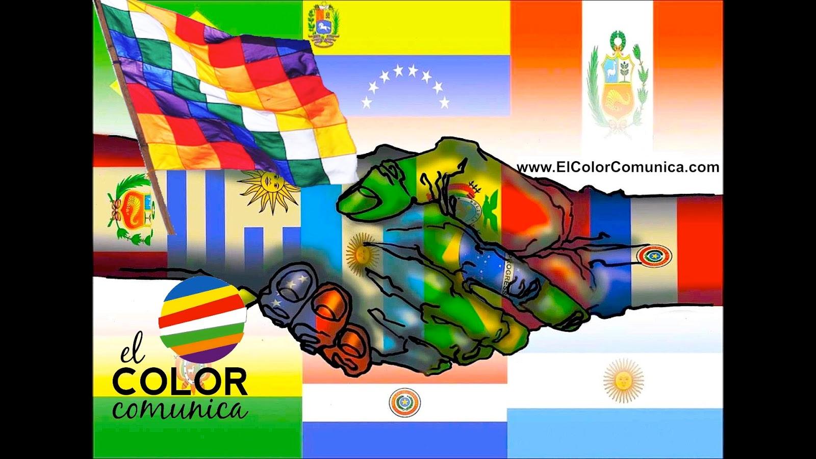 Colores la cuales wiphala bandera de los son