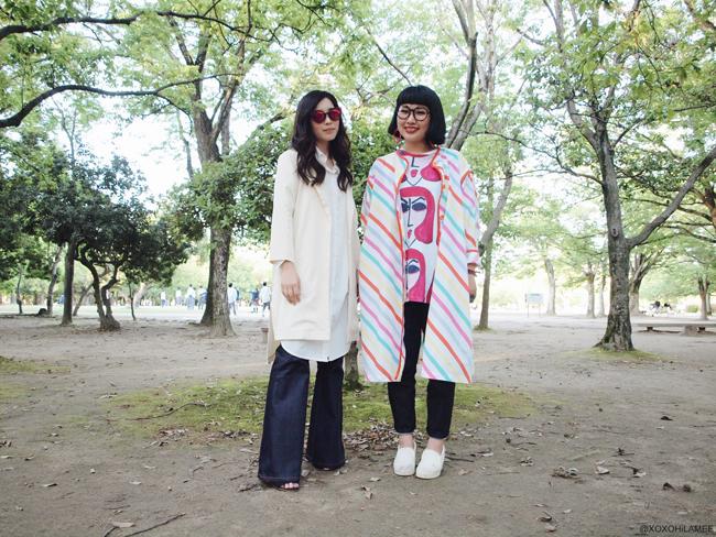 日本人ファッションブロガー ミズホK& カナホM