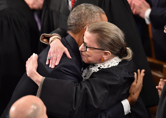 Ruth Bader Ginsburg Will Not Attend Trump's First State Of The Union
