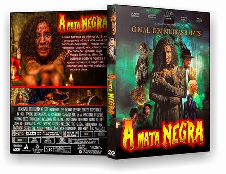 CAPA DVD – A Mata Negra – ISO