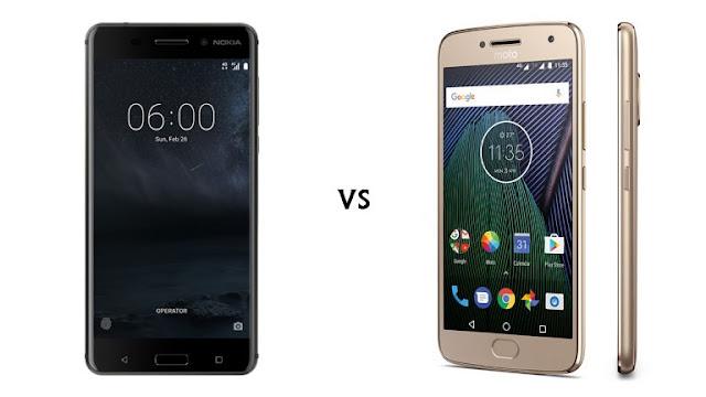 Nokia 6 vs Moto G5 Plus