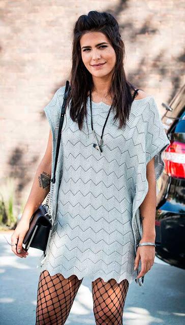 Vestido Manu (Antonia Morais) estilo rebelde