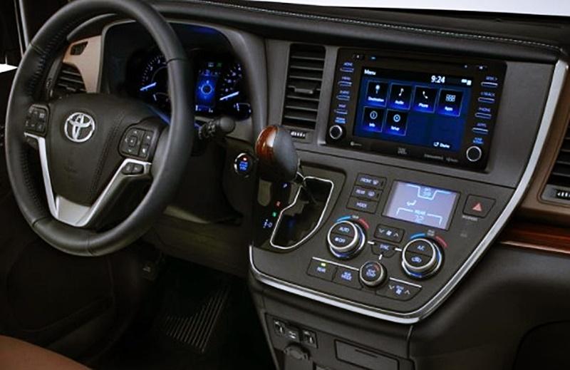 Toyota Sienna 2018 Price Hybrid Interior