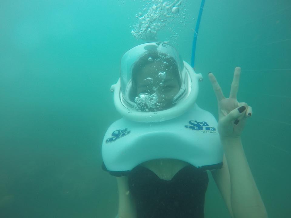 Review về trò chơi đi bộ dưới đáy biển (Sea Trek) ở Hội An - Đà Nẵng