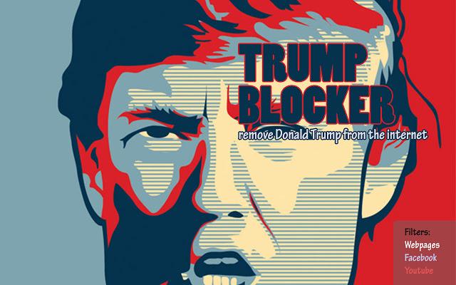 Con un'estensione di Chrome ti liberi di Donald Trump (almeno sul Web) HTNovo