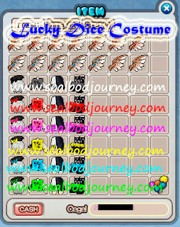 Armor, Lucky Dice Costume, Seal Online Blade of Destiny (BoD)