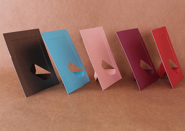 Khung ảnh giấy cao cấp phong cách Hàn Quốc