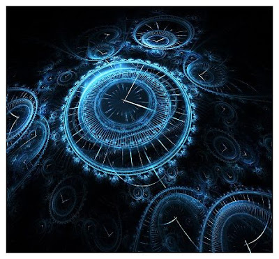 Linear and Spherical Time clock fractal