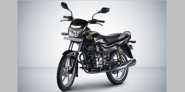 New 2018 Bajaj Platina Comfortec Black color