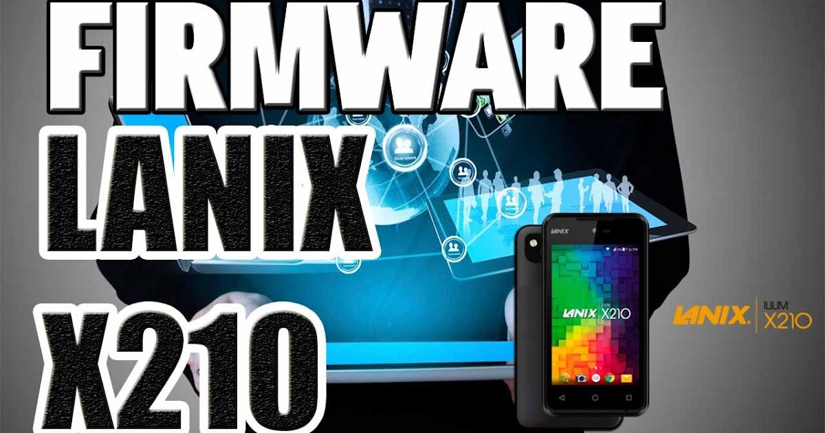como instalar el firmware a lanix x110