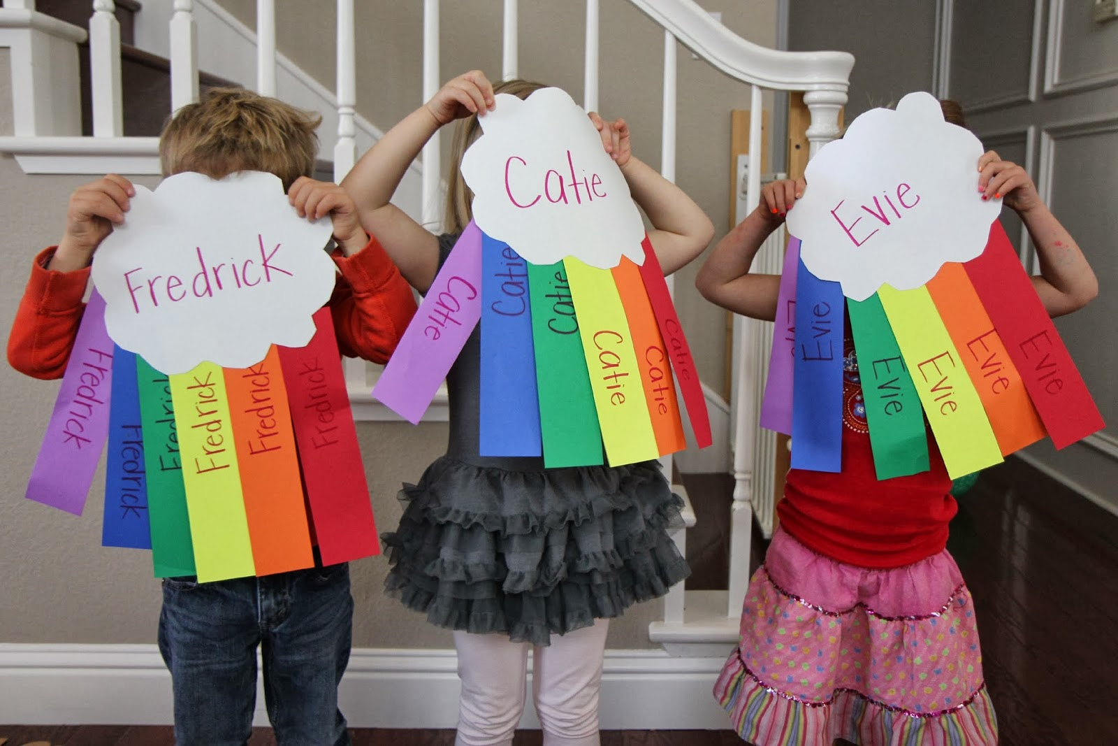 Toddler Approved Rainbow Name Hunt