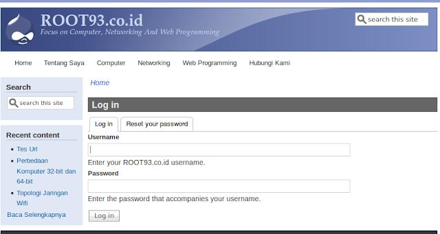 form create new account sudah tidak aktif