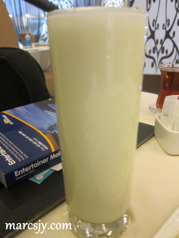 Ayran-Yorgurt Drink-Bosphorus Fine Turkish Cuisine