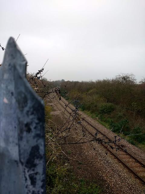 The Tins, Railway Line, Land South of Coldhams Lane, Cambridge, Psychogeography