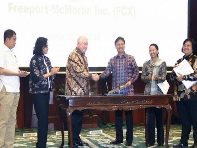 Inilah Pokok-Pokok Perjanjian Divestasi Saham PT Freeport Indonesia